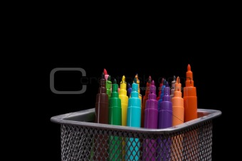 color fibre pens