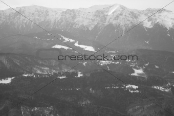 Carpathian ridges
