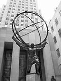 Atlas Statue