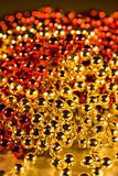 Shinny Beads for background christmas design element