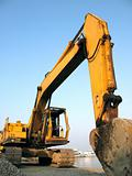 Large Backhoe