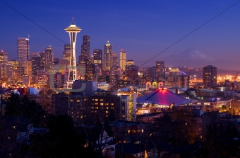 Seattle Postcard View