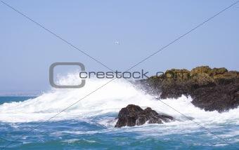 Powerful sea