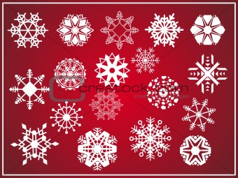 vector dark red illustration background