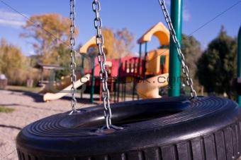 tire swing in motion