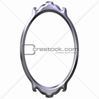 3D Silver Frame