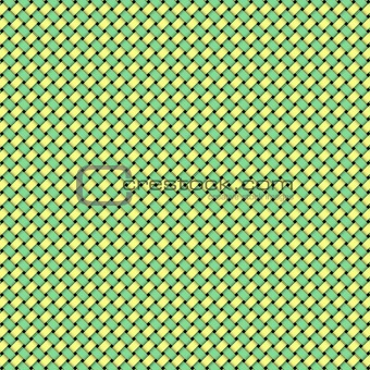 Green Yellow Weave
