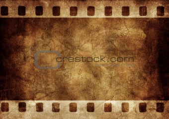 Grunge background photo frame