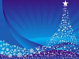 Abstract christmas vector illustration background