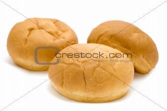 three small loaf