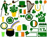 Illustration of Saint Patrick&#39;s Day