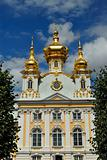 Church of the big Peterhof palace