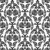 seamless pattern tattoo style