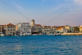 Adriatic town of Vodice waterfront, Dalmatia, Croatia
