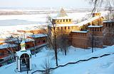 Alarm bell in Nizhny Novgorod Kremlin Russia
