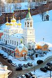 February view of John the Baptist Church Nizhny Novgorod Russia