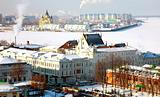February view oldest part Nizhny Novgorod Russia
