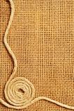 frame of ropes Roll on sack