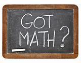 Got math question