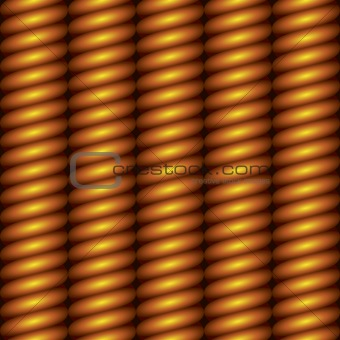 abstract vertical carved gold column seamless background