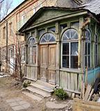 Vintage entrance