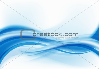 abstract blue design