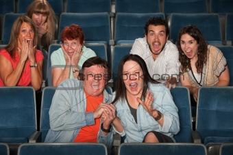 Frightened Audience
