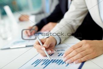 Studying market