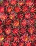 Rambutans fruit background