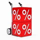 hand truck sale cube