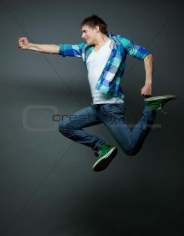 Punching in midair