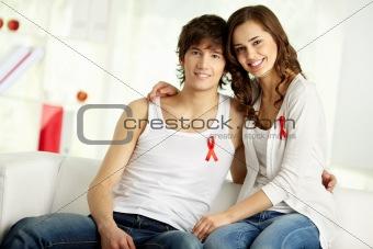 Couple against AIDS