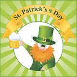 St. Patrick's Day vector Illustration. EPS 8.