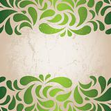 Grunge background for St. Patrick's Day. EPS 8 vector illustration