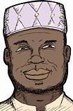 Smiling Muslim Man