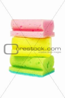 Colorful Sponge Scourers