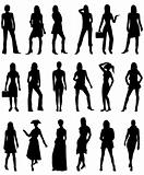 People Silhouettes 2