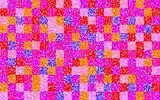 floral grid squares