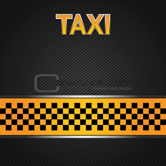 Taxi cab background