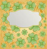 Retro vector background for St. Patrick's Days