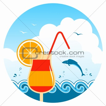 beach cocktail