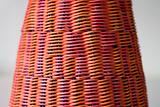 Colourful basketry