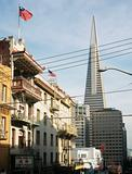 Chinatown and transamerica pyramid san francisco