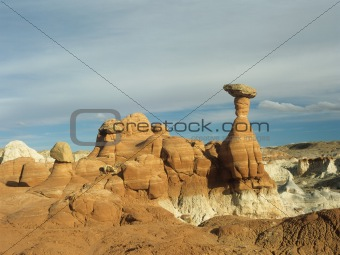 Utah badlands