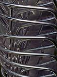 Metal pipes - stock of aluminum garden chairs