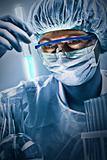 Portrait of scientist
