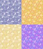 vector seamless geometric pattern of hexagons