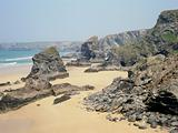 Bedruthan steps and beach