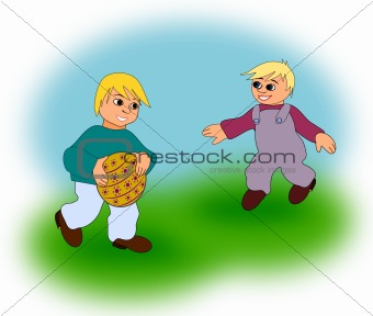 Boys with Ball