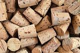 Corks of bottle